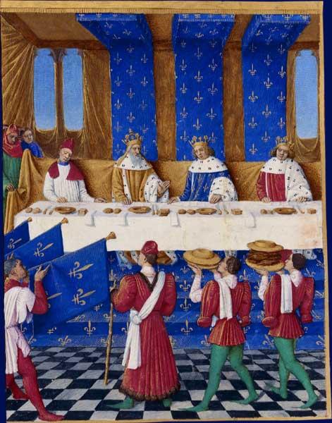 banquet de charles le V le Sage