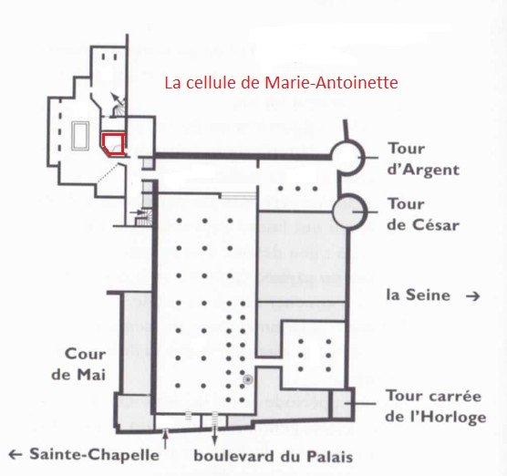 cellule de Marie-Antoinette
