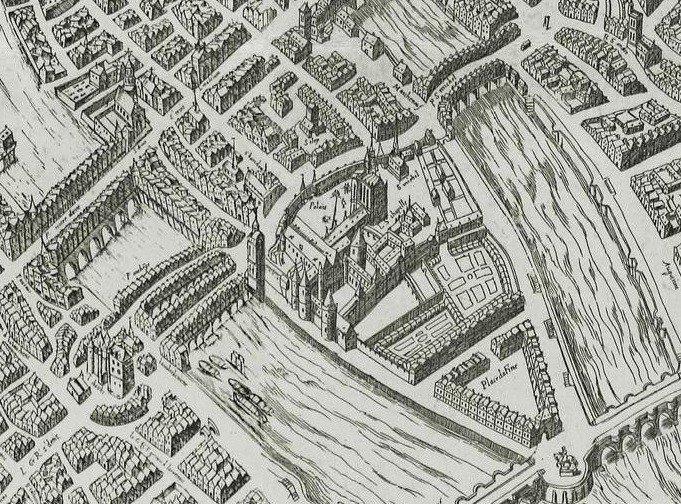 plan de Quesnel 1609