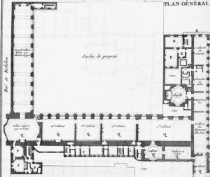 détail plan palais royal