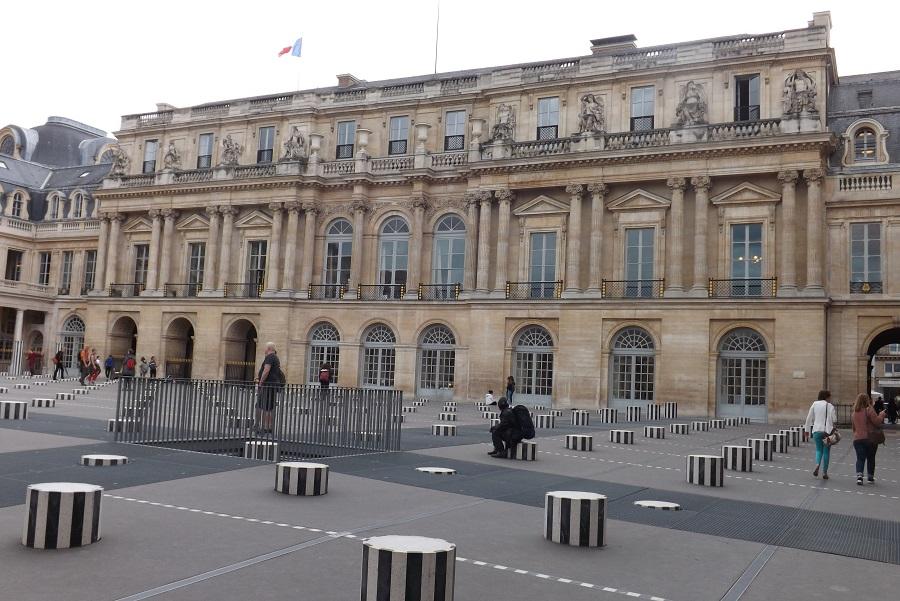 grande façade cour d'honneur