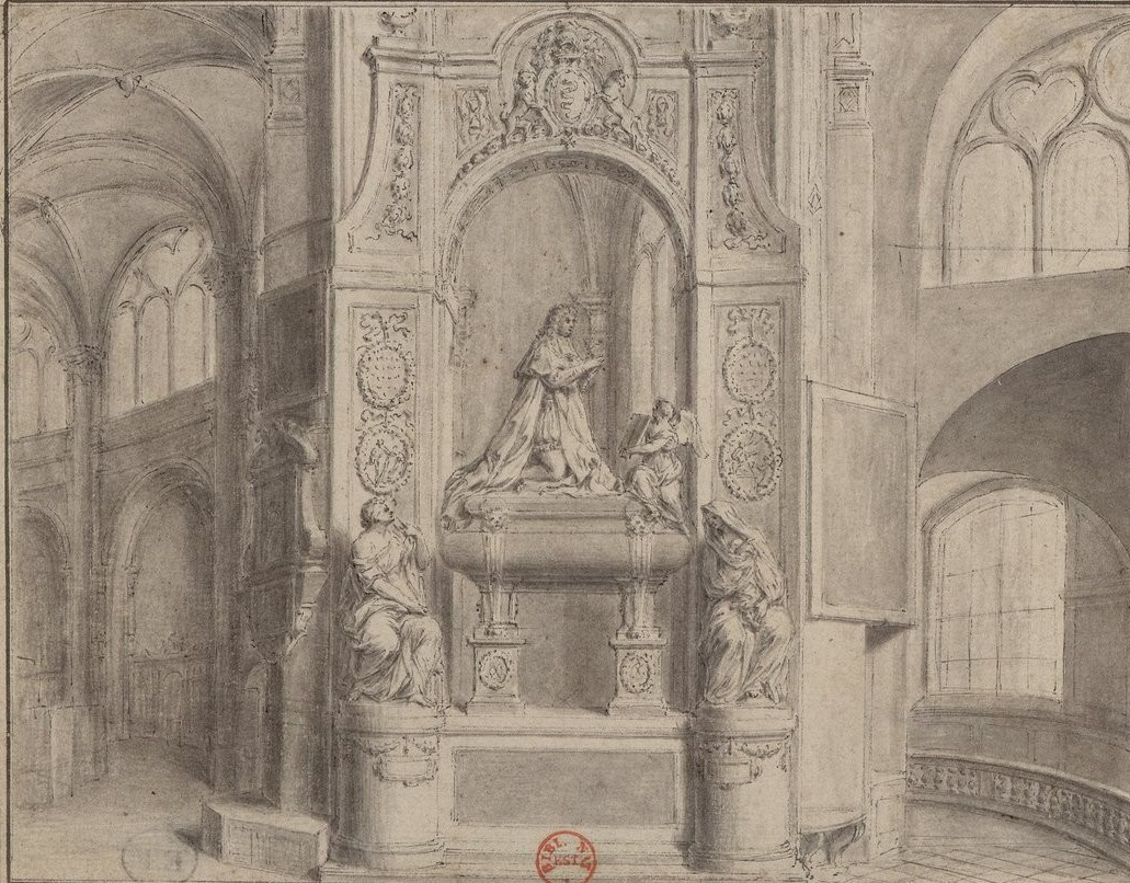 tombeau colbert dessin