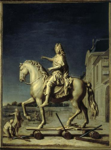 transport statue louis XIV 2