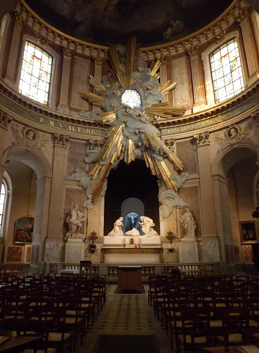 saint roch chapelle vierge